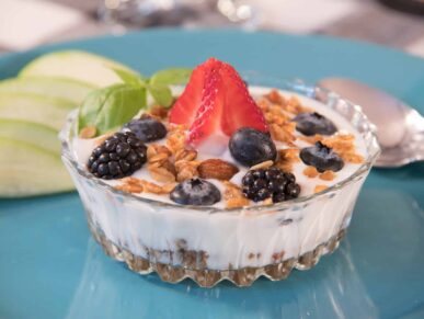 Breakfast, Washington Woodland Estate